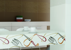 Colección Point. Disponible en 20x60 cm. Acabado Brillante. Gloss surface finished. #point #tauceramica #color #ceramica #tile #revestimiento #walltile #interiordesign #cocina #kitchen #comedor #diningroom www.tauceramica.com www.facebook.com/tauceramica