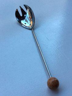 jääpalalusikka . pituus 23cm