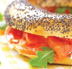 Bagel au saumon fumé, le sandwich spécial kids