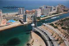 Puente del Estacio en La Manga del Mar Menor