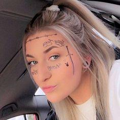 Blue Vintage Rose – Temporary Tattoo / Rose Tattoo/ Bluer Rose Flower/ Blue Rose Tattoo/ Floral Tattoo/ Flower Tattoo /Rose Temporary Tattoo - Famous Last Words Rib Tattoos Words, Wörter Tattoos, Quote Tattoos Girls, Music Tattoos, Black Tattoos, Faith Tattoos, Tatoos, Flower Tattoo Ear, Blue Flower Tattoos