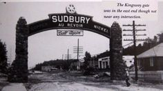 The Kingsway, just a few lots from grandma's house. Sudbury Canada, Grandma's House, Ontario, Fun Facts, Roots, Earth, Deep, Memories, History