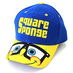 1dfad0147 Spongebob Boys Baseball Cap Hat (Blue) Nickelodeon http   www.amazon
