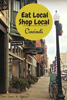 A guide to eating, shopping and drinking your way through Cincinnati at local businesses!