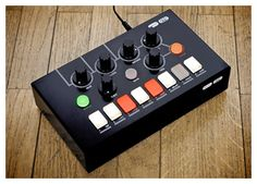Awesome little bit crushing FX unit.  Might need to pick one of these up to enhance my beat machines and synths.