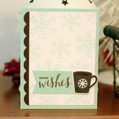 TO THE FULL: 2016 Winter Coffee Lover's Blog Hop & MFT Wednesday Sketch 310
