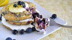 Lemon Blueberry Coconut Pancakes   Recipe   Fox News