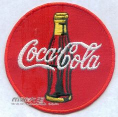 Coke Patch Soft drinks patches Embroidered patch Iron On Patches sew on patches