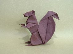origami | Animal - Origami Squirrel | Origami and PaperCraft – Origami Paper ...