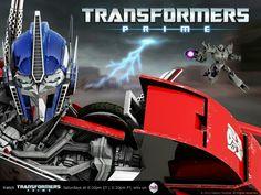 Transformers prime Optimus prime and Megatron