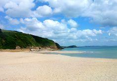 Pentewan Sands, Cornwall.