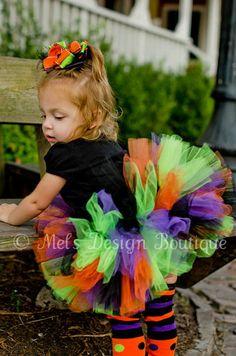 Halloween Tutu  for Adley Jane!