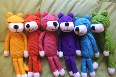 crochet animals - love these! Soooo CUTE!