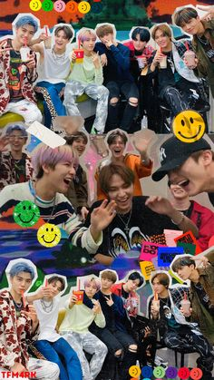 "Find and save images from the ""Nct ⁱⁿ ᵗʰᵉ ʰᵒᵘˢᵉ"" collection by lisa (lisavanhaarlem) on We Heart It, your everyday app to get lost in what you love. J Pop, Nct 127, Kpop Wallpaper, Aztec Wallpaper, Pink Wallpaper, Screen Wallpaper, Kpop Posters, Ntc Dream, Nct Life"