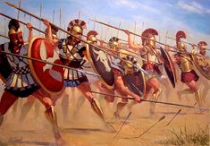 romanoimpero.com: LO SCUDO ROMANO Greek Soldier, Roman Empire, Fantasy Characters, Character Inspiration, Fair Grounds, History, Painting, Troy, Military