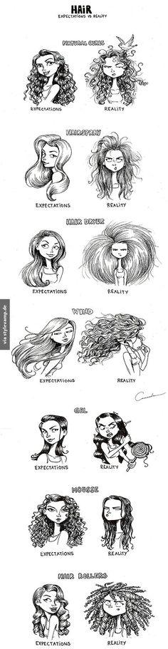 Bad Hair Day - Erwartungen gegen Realität