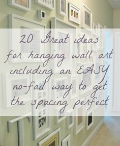 Wall Art Ideas AND Tips for hanging and arranging Laurel Home Photo Arrangement, Picture Arrangements On Wall, Hanging Photos, Hanging Pictures On The Wall, Hanging Picture Frames, Up House, Hanging Wall Art, Interiores Design, Home Projects