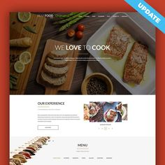 Joomla template for restaurant websites was recently updated. Take a look at most important features and improvements! #Joomla #template #food #restaurant #bar #drink #website #features #update