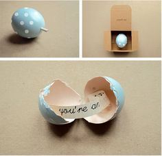 Eggstra Special, messages in an egg DIY