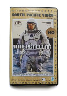 Recent movies and series in VHS.