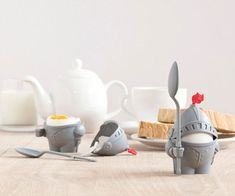 The Knighted Egg Cup | DudeIWantThat.com