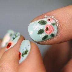 Rifle Paper Co nails