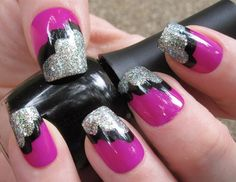 Awesome idea for getting your nails done. So cute!
