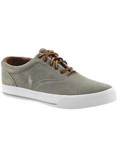 Ralph Lauren Polo shoes. Comfy, comfy.