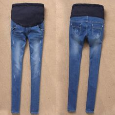 High quality spring and autumn maternity jeans pants Pregnancy trousers 2015 maternity pants