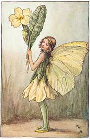 Butterfly girl Lupineke: Cicely Mary Barker