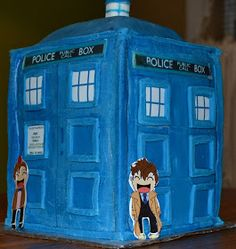 Robot Squirrel and the Monkeys: A Timey Wimey 6th Birthday