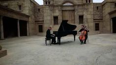 """The famous Piano Guys play another beloved carol. This time it's a very moving rendition of """"O Come, Emmanuel"""" shot on a movie set that looks just like Old Jerusalem!"""
