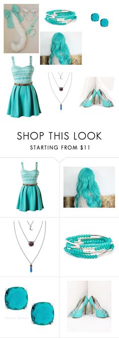 """""""Teal"""" by jasmine12cummins ❤ liked on Polyvore featuring Hot Topic and Chrysalis"""