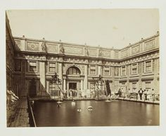 "archimaps: ""Inside the Roman Baths, Vienna "" Museum, Her World, Splish Splash, Summer Heat, Old City, New Media, Vienna, Swimming Pools, Baths"