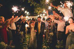 Backyard Texas Wedding from Mike Olbinski Photography. Our Wedding, Dream Wedding, Wedding Blog, Wedding Stuff, Essense Of Australia Wedding Dresses, Sparkler Send Off, Apple Roses, Wedding Sparklers, Company Picnic