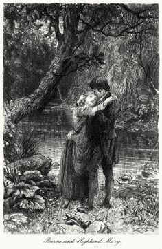 Burns and Highland Mary.  William Brassey Hole, from The poetry of Robert Burns vol III, Edinburgh, 1897.