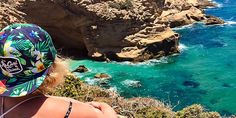 Kathi genießt den #Ausblick von der #marrokanischen #Küste © Katharina Suchodolska