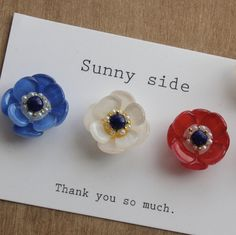 アネモネの花イヤリング Shrink Plastic Jewelry, Resin Jewelry, Jewelry Crafts, Hand Embroidery Flowers, Diy Earrings, Resin Crafts, Bottle Crafts, Handmade Accessories, Beading Patterns