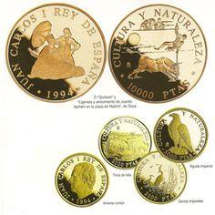 Colección monedas Cultura y Naturaleza (1994/1996). Plata.
