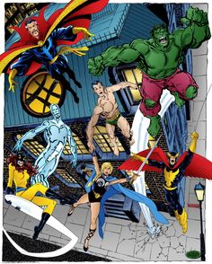 The Defenders - John Byrne