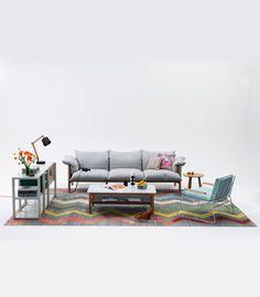 Loom Rugs - Old Yarn Kilim – Large ZigZag
