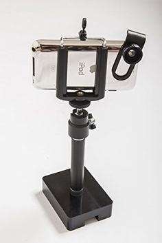 Manything adjustable smartphone stand with wide angle lens attachment * For more information, visit image link. (This is an affiliate link) Wide Angle Lens, Selfie Stick, Technology Gadgets, Image Link, Smartphone, Super Wide Lens