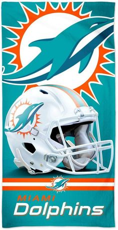 Unbranded WinCraft Miami Dolphins 30 x 60 Spectra Beach Towel