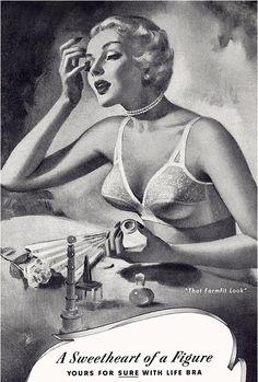 Formfit Bra Ad, 1950