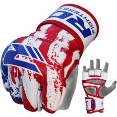 #RDX USA printed #MMA Grappling Gloves LIMITED EDITION #RDXUSA