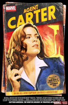 A mais nova série da Marvel, Agente Carter, estreou na última semana no canal ABC com um episódio duplo, somando duas horas de duração.