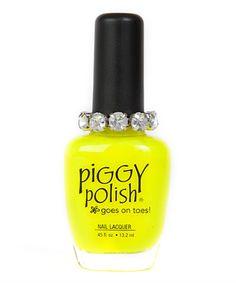 Look at this You Had Me At Yellow Nail Polish on #zulily today!