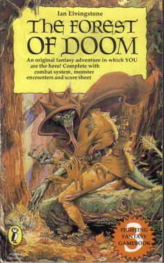 Fighting Fantasy - Lost track of how many of these I read as a kid.