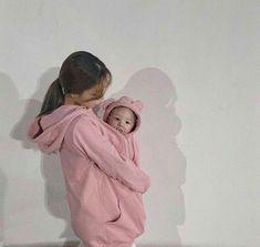 Cute Asian Babies, Korean Babies, Asian Kids, Cute Babies, Mode Ulzzang, Ulzzang Kids, Ulzzang Couple, Dad Baby, Mom And Baby