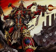 World Eater space marine Khorne Chaos W40K